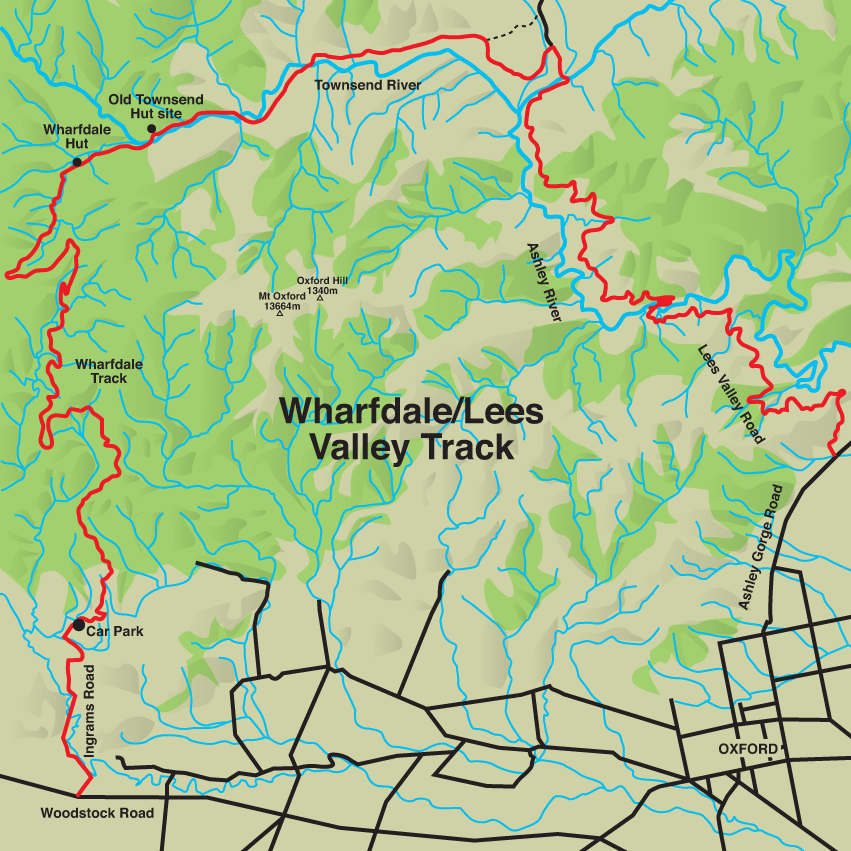 wharfdale map